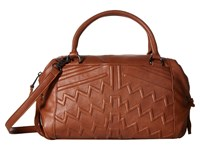 French Connection Andy Satchel Nutmeg Satchel Handbags Brown