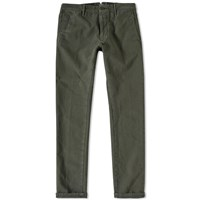 Incotex Skin Fit Stretch Chino Green
