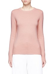 Theory 'Salomina' Tie Back Cashmere Sweater Pink