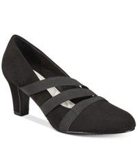 Easy Street Shoes Camillo Pumps Women's Black Suede