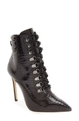 Women's By Zendaya 'Kettle' Corset Lace Pointy Toe Boot