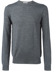 Paolo Pecora Crew Neck Sweater Grey