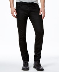 Guess Men's Slim Fit Tapered Mechanical Black Wash Jeans
