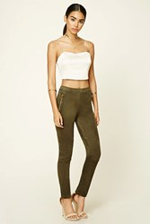 Forever 21 Faux Suede Leggings