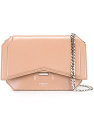 Givenchy Mini 'Bow Cut' Shoulder Bag Pink And Purple