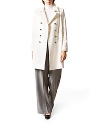 Hobbs London Natasha Double Breasted Coat 100 Bloomingdale's Exclusive Winter White