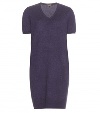 Loro Piana Glace Cashmere Sweater Dress Purple