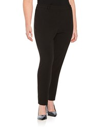 Michael Michael Kors Plus Ankle Length Dress Pants Black
