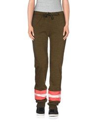 Franklin And Marshall Trousers Casual Trousers Women Military Green