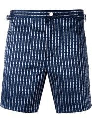 La Perla 'Leisure Escape' Swim Shorts Blue