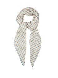 Bottega Veneta Butterfly Print Cashmere And Silk Blend Scarf