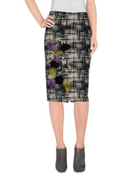 Erika Cavallini Semi Couture Erika Cavallini Semicouture Knee Length Skirts