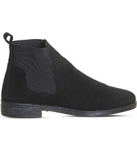 Office Jamie Suede Chelsea Boots Black Suede