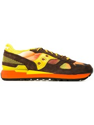 Saucony Panelled Sneakers Multicolour