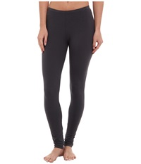 Splendid Modal Leggings Coal Women's Casual Pants Gray