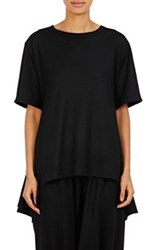 Regulation Yohji Yamamoto Women's Jersey Peplum Back Top Black