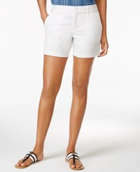 Tommy Hilfiger Hollywood Lace Patch Shorts Classic White