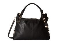 Jessica Simpson Ryanne Top Zip Tote Black Tote Handbags