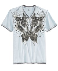 Inc International Concepts Shattered Eagles T Shirt Only At Macy's Cool Dusk