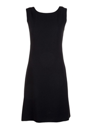 Moschino Cheap And Chic Back Bow Dress Black