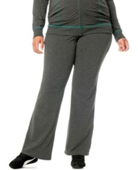 Motherhood Maternity Plus Size Yoga Pants Heather Grey