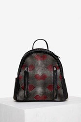 Nasty Gal Lip It Good Studded Backpack