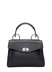 Proenza Schouler Small Hava Top Handle Handbag Black