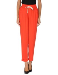 Emma Cook Casual Pants Red