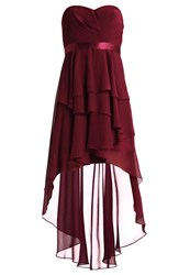 Laona Occasion Wear Velvet Rouge Red