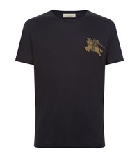 Burberry Embellished T Shirt Male