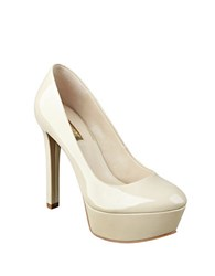 Guess Ette Platform Pumps Natural