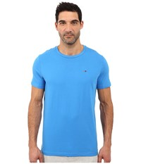 Tommy Hilfiger Short Sleeve Crew Neck T Shirt French Blue Men's T Shirt