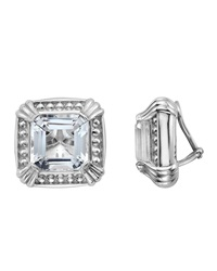 Slane Voltaire Square Crystal Earrings