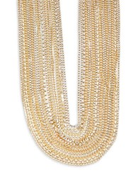 Abs By Allen Schwartz Out Last Night Gold Multi Row Torsade Necklace