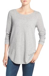 Eileen Fisher Women's Organic Cotton And Cashmere Ballet Neck Pullover