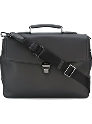 Boss Hugo Boss Front Flap Briefcase Black