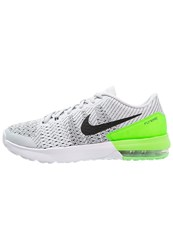 Nike Performance Air Max Typha Sports Shoes Pure Platinum Black Rage Green White Grey