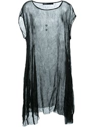 Rundholz Sheer Dress Black