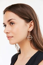 Urban Outfitters Effie Statement Earring Silver