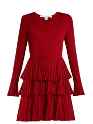 Diane Von Furstenberg Sharlynn Dress Red