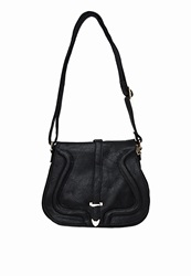 Missguided Piping Detail Satchel Bag Black