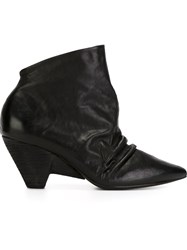 Marsa Ll Pointed Toe Distressed Boots Black