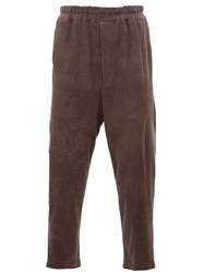 By Walid Cropped Trousers Grey