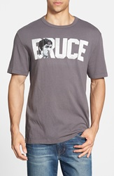 Tailgate 'Bruce' Graphic T Shirt Flannel