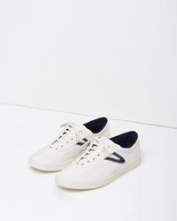 Tretorn Nylite Canvas Sneaker White Peacoat Navy