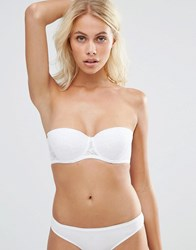 New Look Strapless Bra Off White