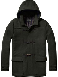 Scotch And Soda Hooded Duffle Coat