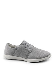 G.H. Bass Skyler Fabric Lace Up Sneakers Grey