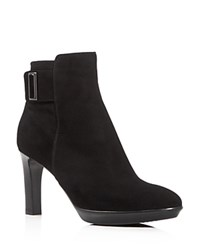 Aquatalia By Marvin K Rochelle High Heel Booties Black