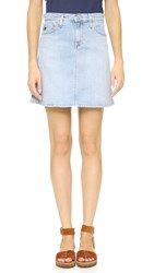 Ag Jeans The Ali A Line Skirt Inviting Light Skirt